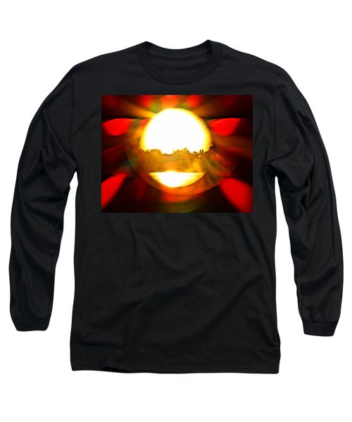 Sun Burst Long Sleeve T-Shirt by Eric Dee