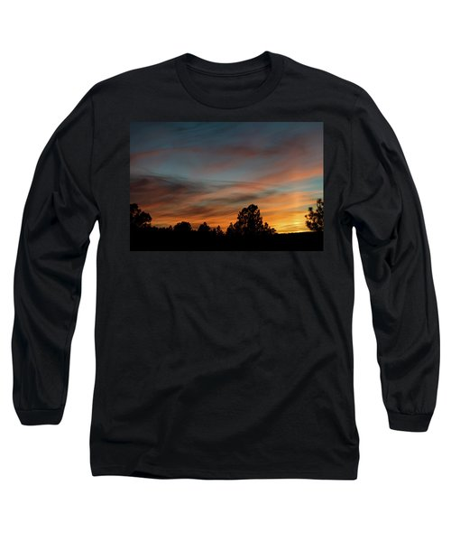 Sun Pillar Sunset Long Sleeve T-Shirt