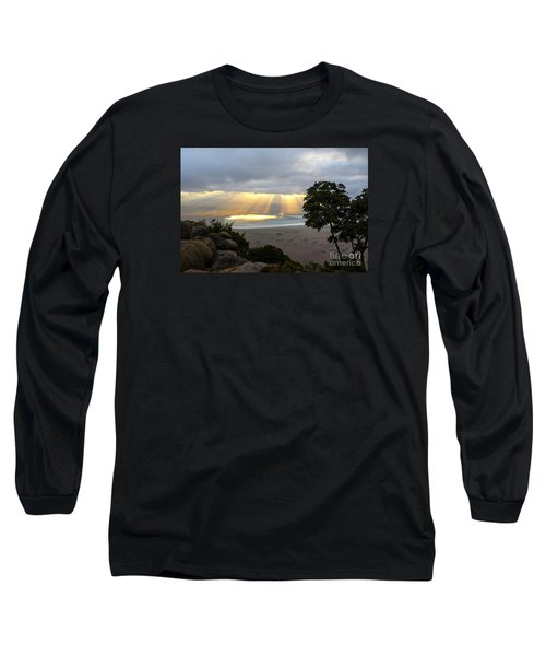 Long Sleeve T-Shirt featuring the photograph Sun Rays by Pravine Chester
