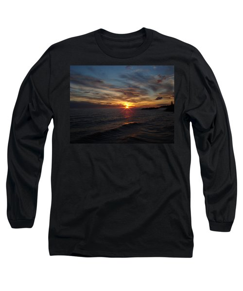 Long Sleeve T-Shirt featuring the photograph Sun Up by Bonfire Photography
