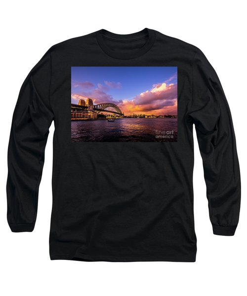 Long Sleeve T-Shirt featuring the photograph Sun Up by Perry Webster