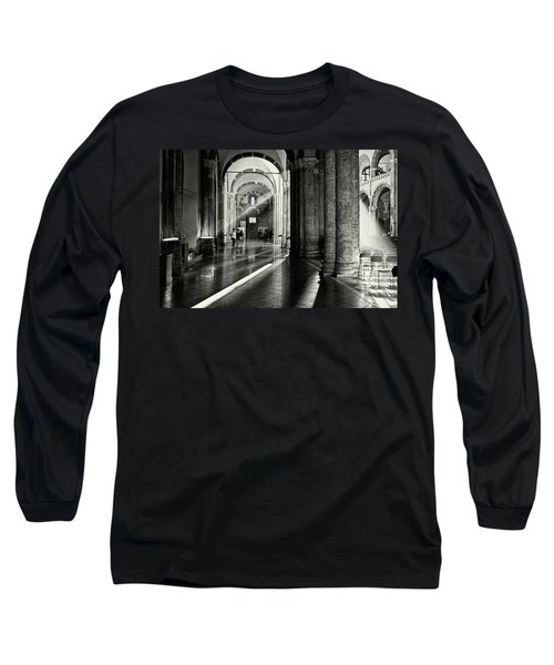 Sunbeam Inside The Church Long Sleeve T-Shirt