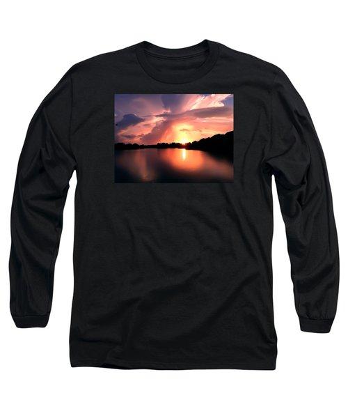 Sunburst At Edmonds Washington Long Sleeve T-Shirt
