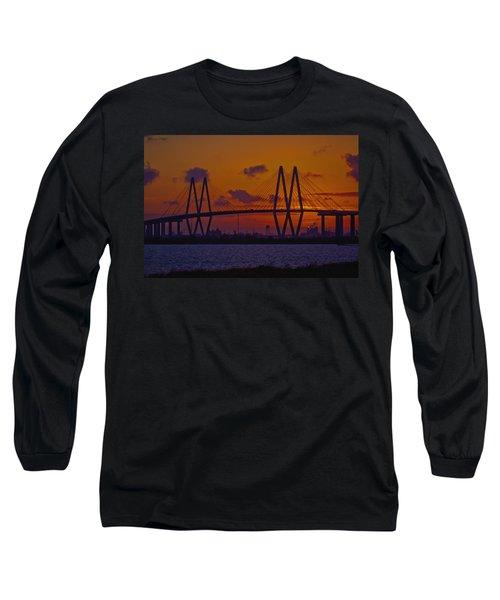 Sundown In Baytown Long Sleeve T-Shirt