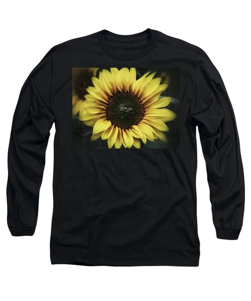 Long Sleeve T-Shirt featuring the photograph Sunflower Dream by Karen Stahlros