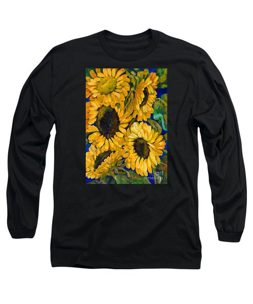Sunflower Faces Long Sleeve T-Shirt