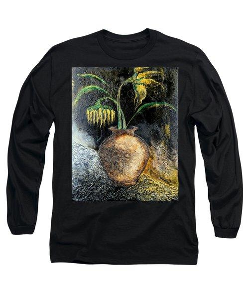 Sunflower Long Sleeve T-Shirt by Farzali Babekhan