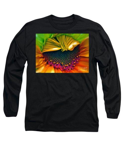 Sunflower Smoothie Long Sleeve T-Shirt