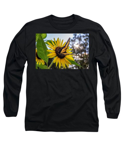 Sunflower Swallowtail Long Sleeve T-Shirt