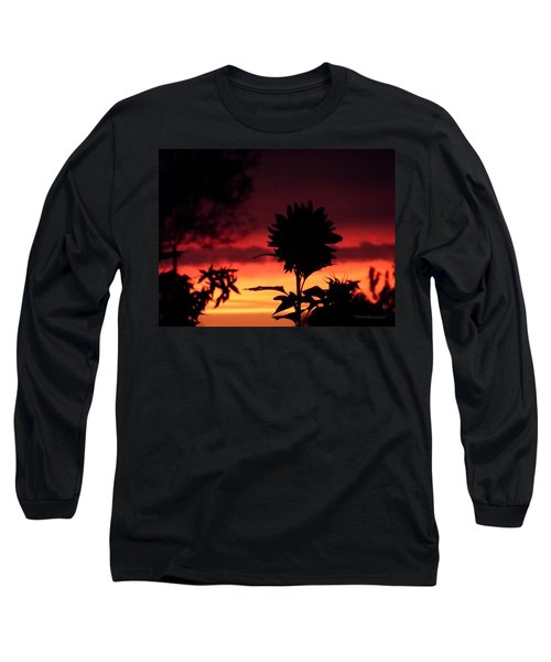 Sunflower's Sunset Long Sleeve T-Shirt