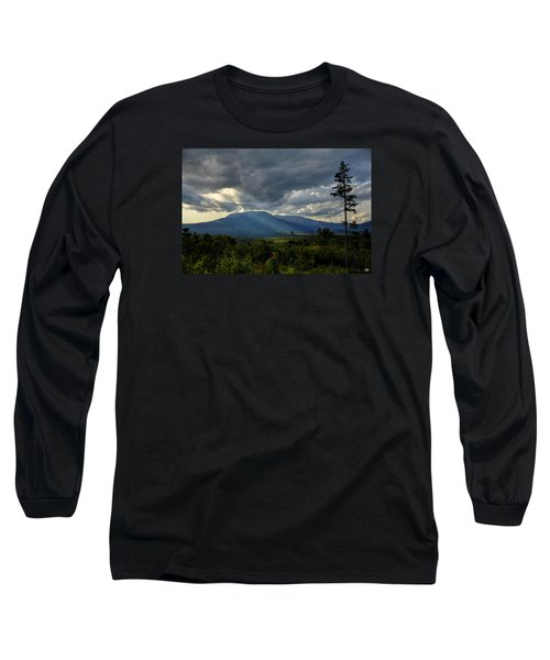 Sunlight On Katahdin Long Sleeve T-Shirt