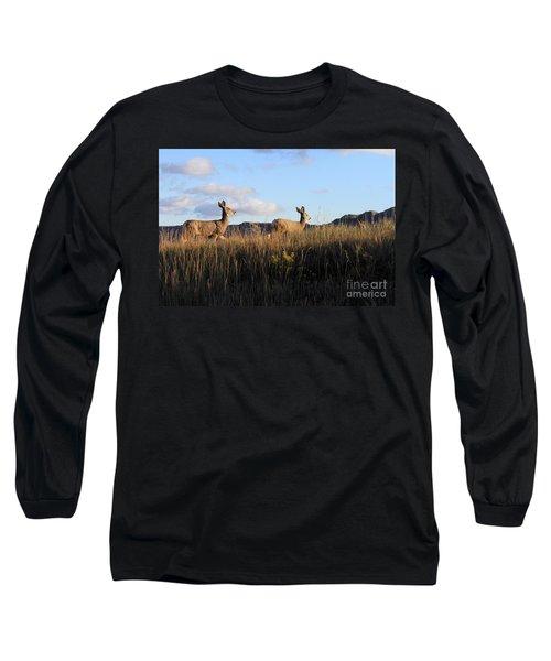 Sunlit Deer  Long Sleeve T-Shirt