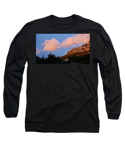Long Sleeve T-Shirt featuring the photograph Sunlit Path by August Timmermans