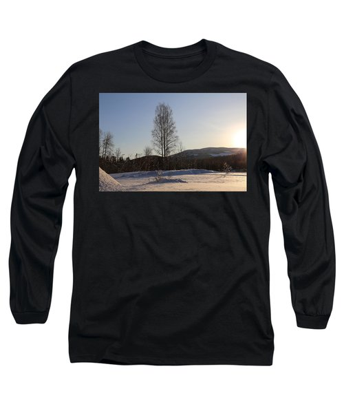 Sunny Day In Norway.  Long Sleeve T-Shirt