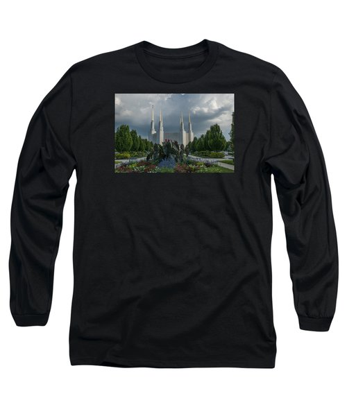 Sunny Day With Clouds Long Sleeve T-Shirt