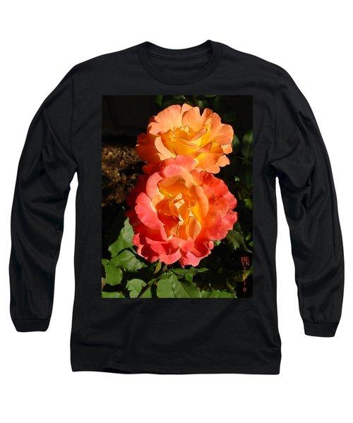 Sunny Roses Long Sleeve T-Shirt