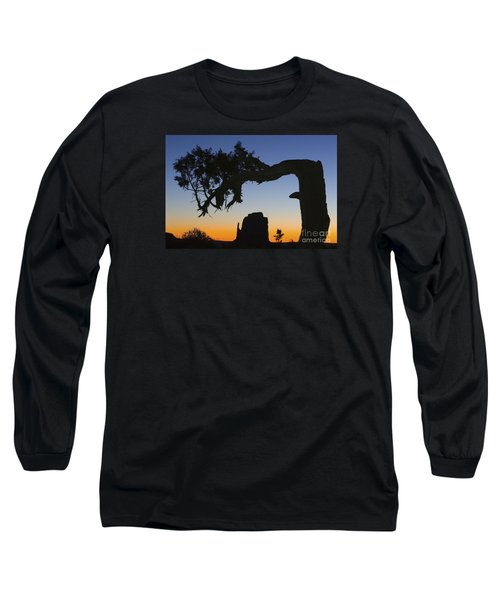 Sunrise At East Mitten Long Sleeve T-Shirt by Jerry Fornarotto