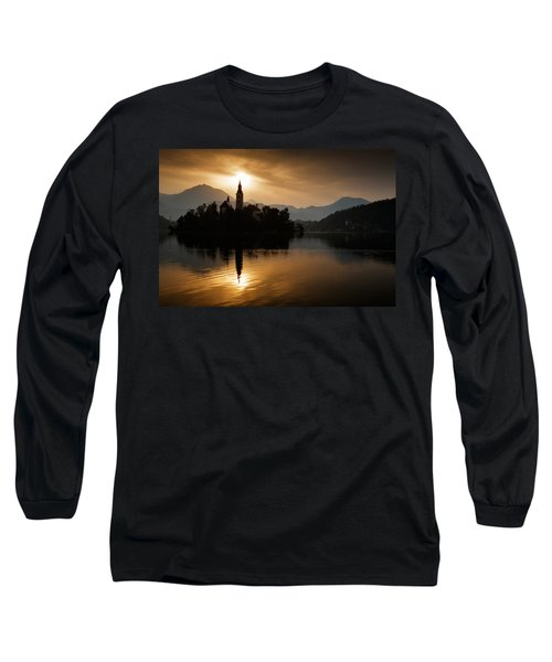 Sunrise At Lake Bled Long Sleeve T-Shirt
