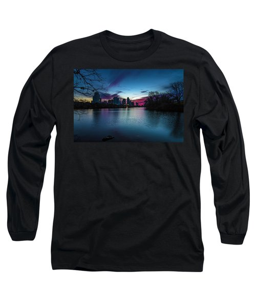 Sunrise At Lou Neff Point Long Sleeve T-Shirt