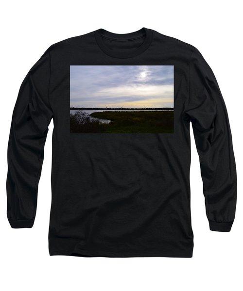 Sunrise At Orange Creek Long Sleeve T-Shirt by Warren Thompson