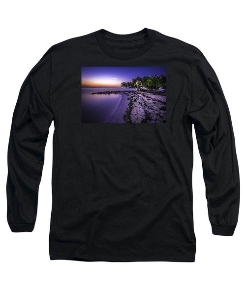 End Of The Beach Long Sleeve T-Shirt