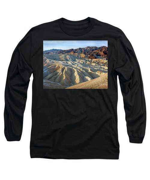 Sunrise At Zabriskie Point Long Sleeve T-Shirt