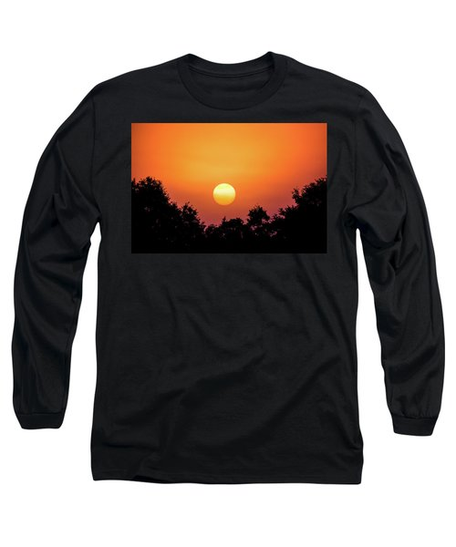 Long Sleeve T-Shirt featuring the photograph Sunrise Bliss by Shelby Young