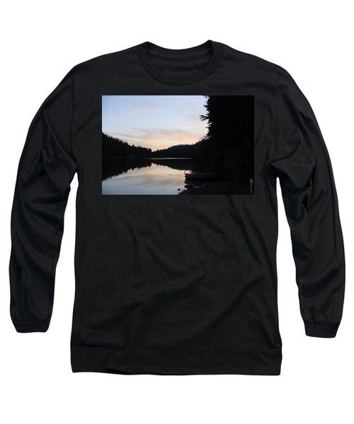 Sunrise Boat  Long Sleeve T-Shirt