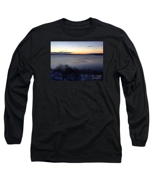 Sunrise Casco Bay January 21, 2016  Long Sleeve T-Shirt