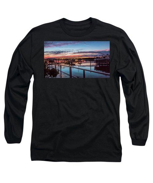 Sunrise Christmas Morning Long Sleeve T-Shirt