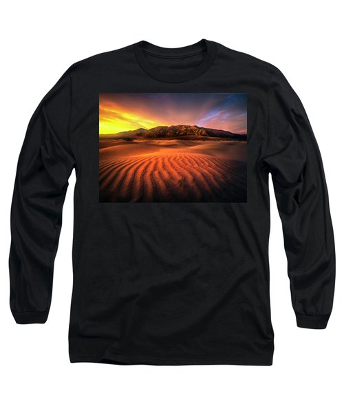 Sunrise-death Valley Long Sleeve T-Shirt