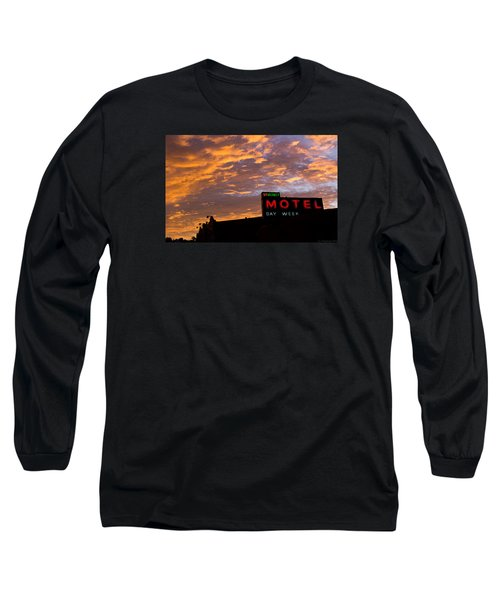 Long Sleeve T-Shirt featuring the photograph Sunrise Enters Capitola by Lora Lee Chapman
