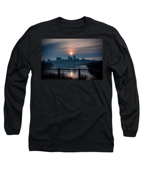 Sunrise From Kaw Point Long Sleeve T-Shirt