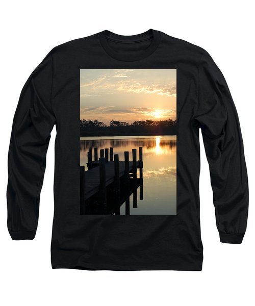 Sunrise In Grayton Beach II Long Sleeve T-Shirt