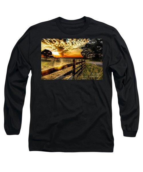 Sunrise In Summer Long Sleeve T-Shirt
