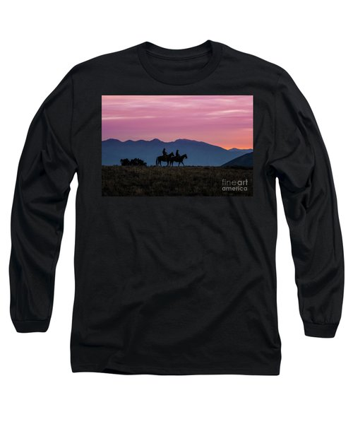Sunrise In The Lost River Range Wild West Photography Art By Kay Long Sleeve T-Shirt