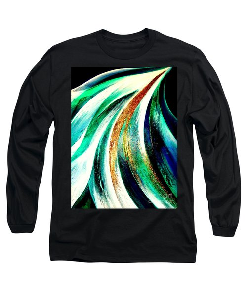 Sunrise In Water Fall Long Sleeve T-Shirt