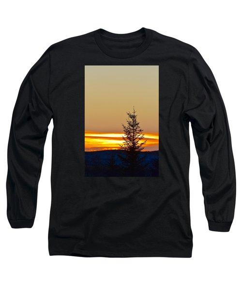 Sunrise On A Sunday Morning Long Sleeve T-Shirt by Dacia Doroff