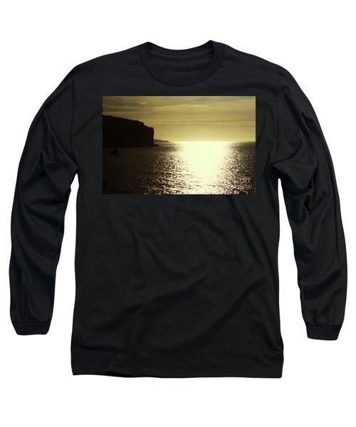 Long Sleeve T-Shirt featuring the photograph Sunrise On The Almalfi Coast by Polly Peacock