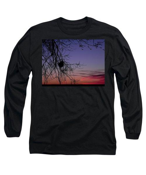 Sunrise On The Colorado Plains Long Sleeve T-Shirt