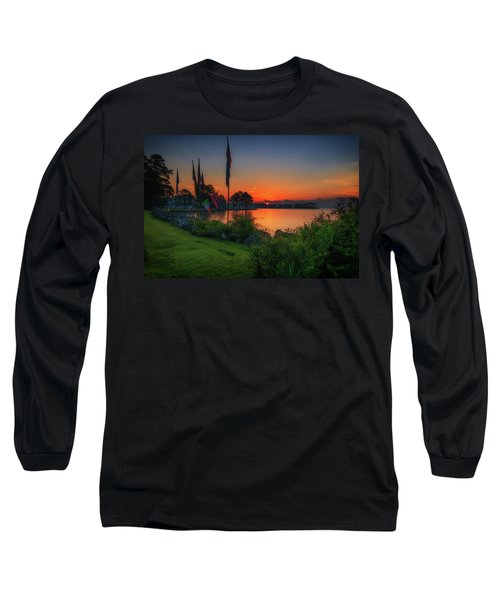 Sunrise On The Neuse 2 Long Sleeve T-Shirt