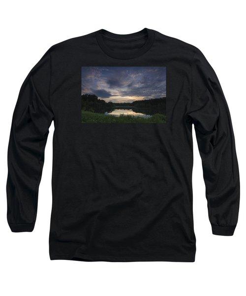 Sunrise Over Indigo Lake Long Sleeve T-Shirt