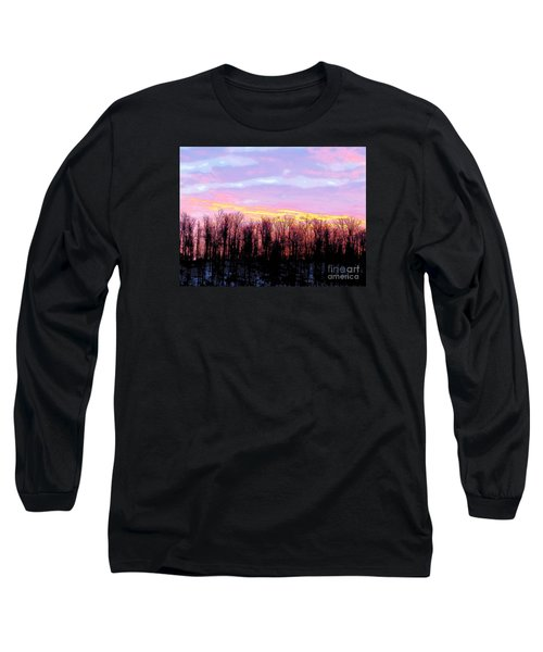 Sunrise Over Lake Long Sleeve T-Shirt by Craig Walters