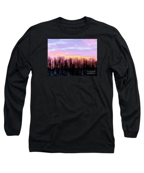 Sunrise Over Lake Long Sleeve T-Shirt