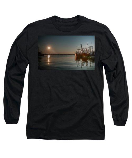 Sunrise Over New Bedford, Long Sleeve T-Shirt