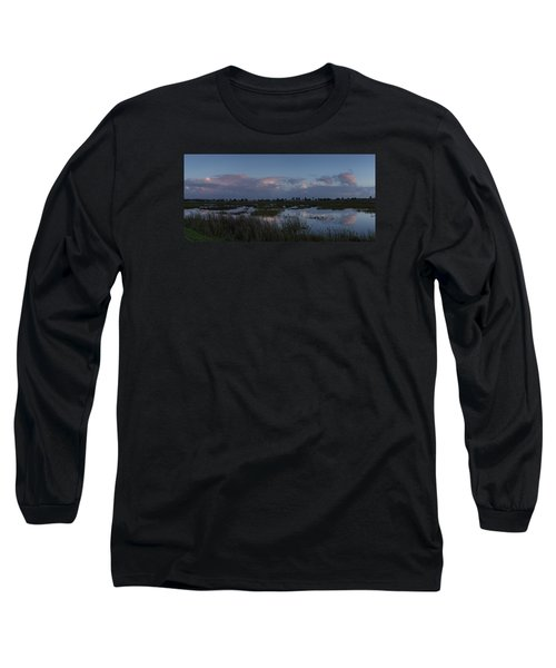 Sunrise Over The Wetlands Long Sleeve T-Shirt