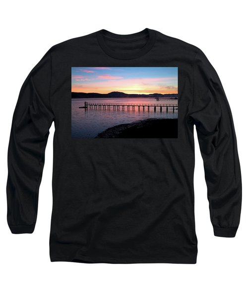 Sunrise Over Tomales Bay Long Sleeve T-Shirt