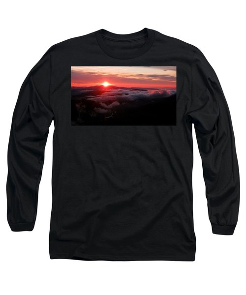 Sunrise Over Wyvis Long Sleeve T-Shirt