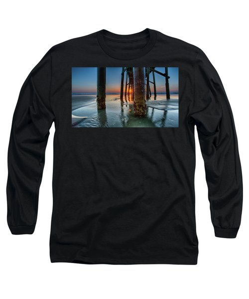 Sunrise Pier Long Sleeve T-Shirt