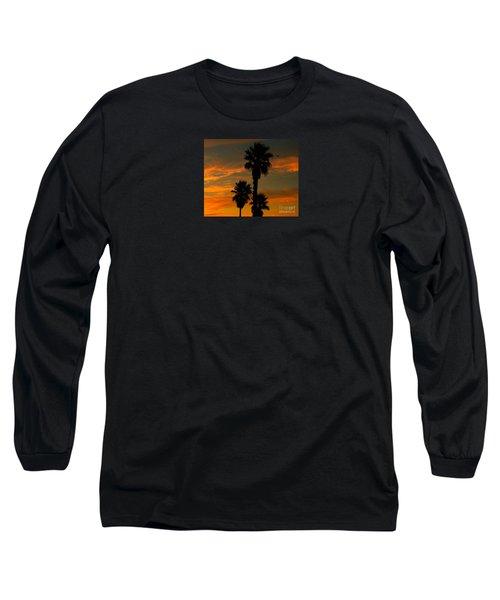 Sunrise Silhouettes Long Sleeve T-Shirt by Janice Westerberg